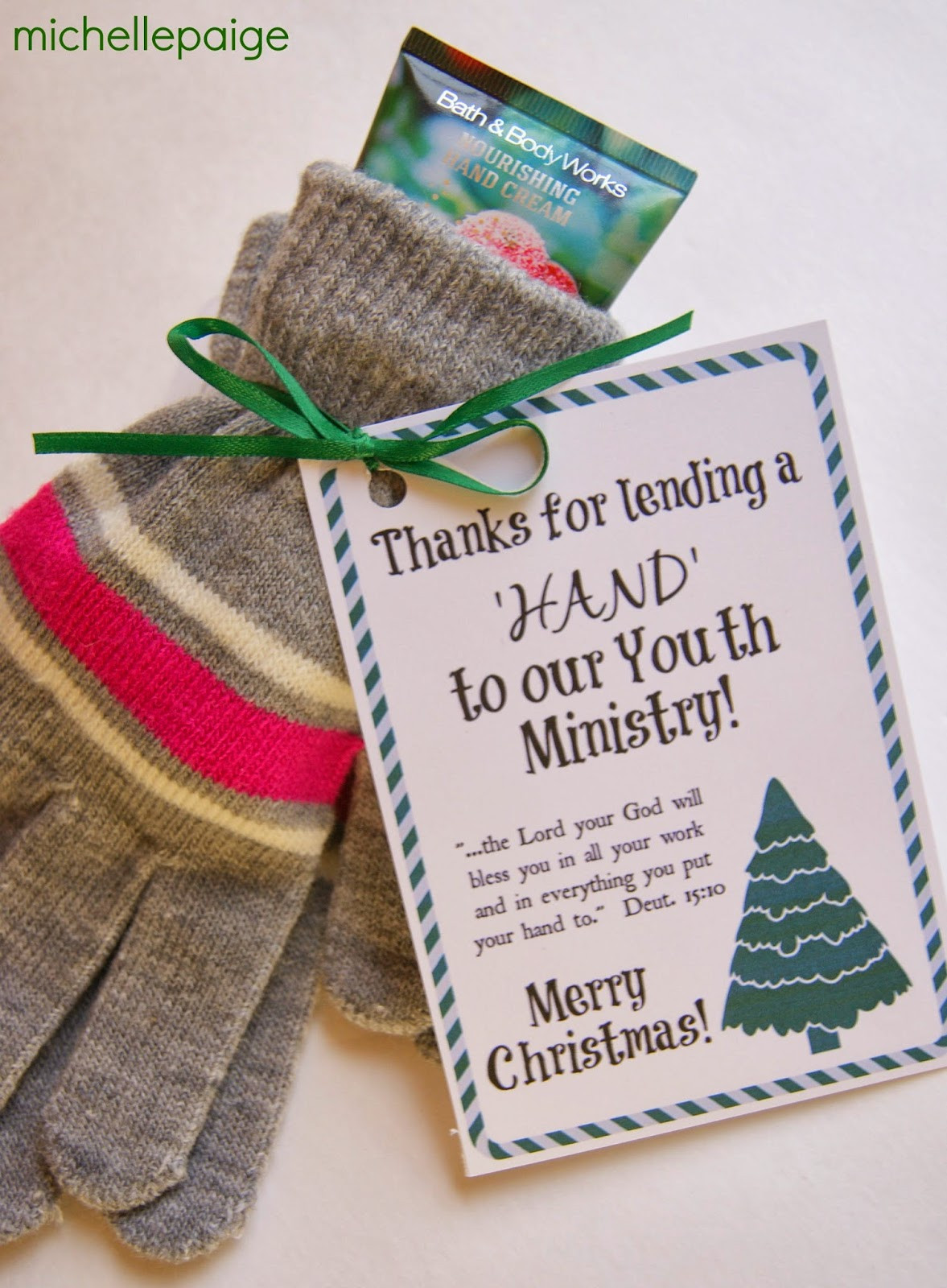 Good Thank You Gift Ideas  michelle paige blogs Youth Ministry and Children s