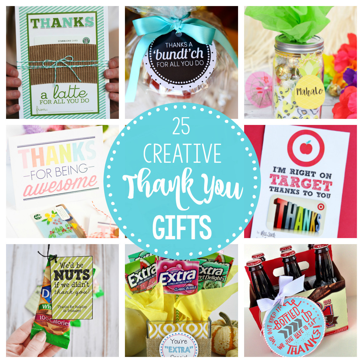 Good Thank You Gift Ideas  25 Creative & Unique Thank You Gifts – Fun Squared
