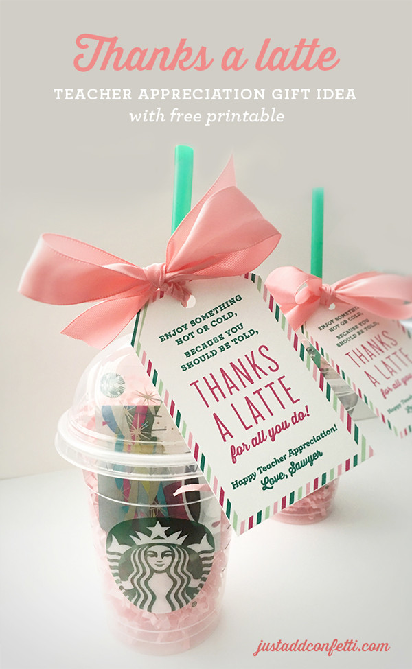 Good Thank You Gift Ideas  fun ways to give t cards for teacher appreciation It