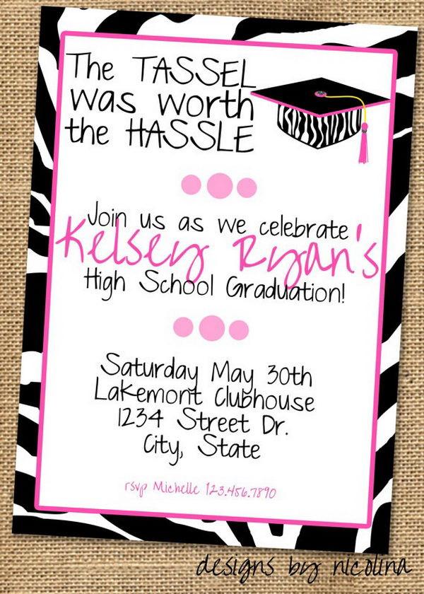 Graduation Party Invitations Ideas  10 Creative Graduation Invitation Ideas Hative
