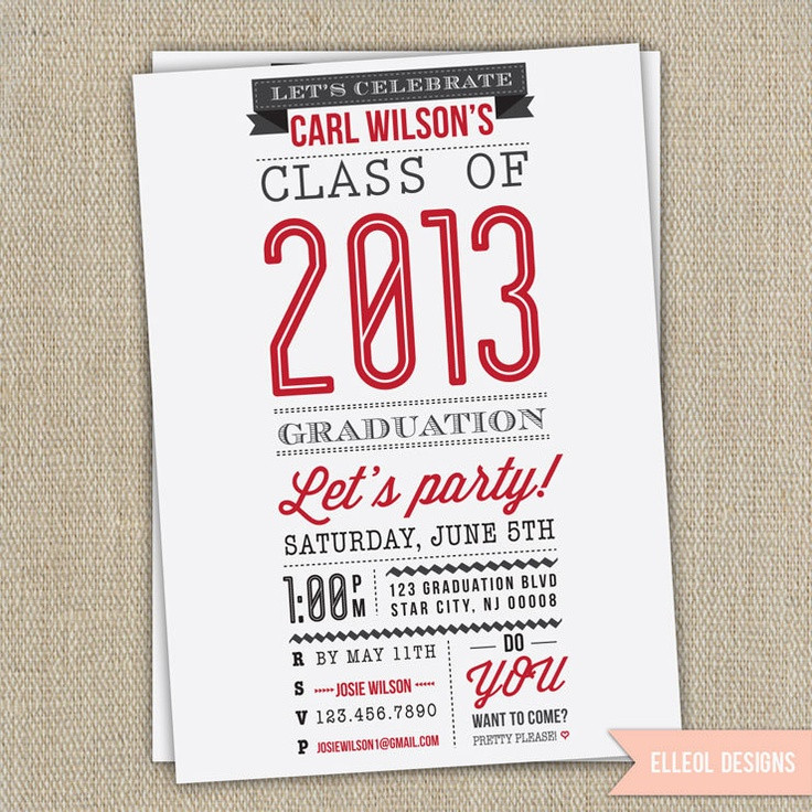 Graduation Party Invitations Ideas  11 best Class 2020 images on Pinterest