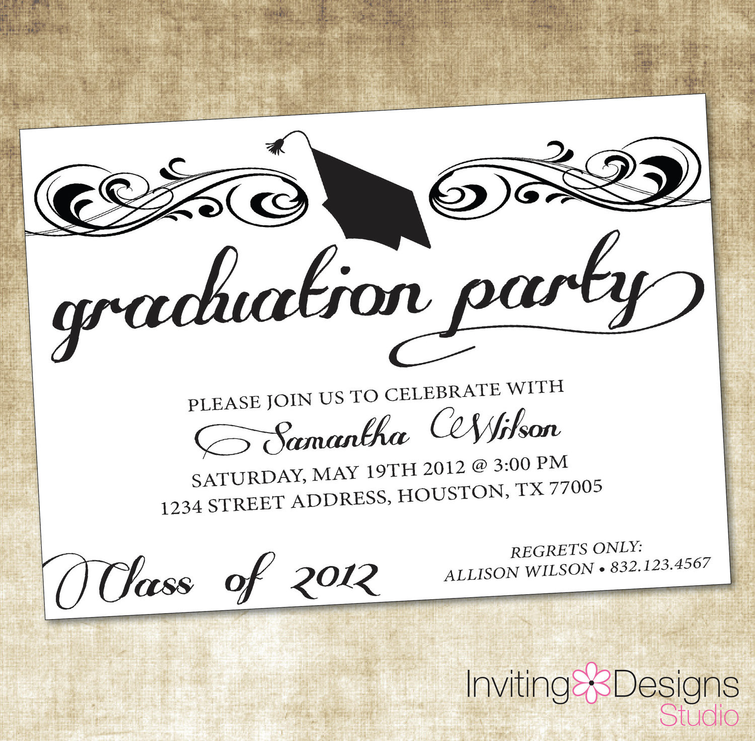 Graduation Party Invitations Ideas  Quotes For Graduation Party Invitations QuotesGram