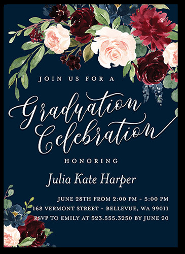 Graduation Party Invitations Ideas  College Graduation Party Ideas and Themes for 2019