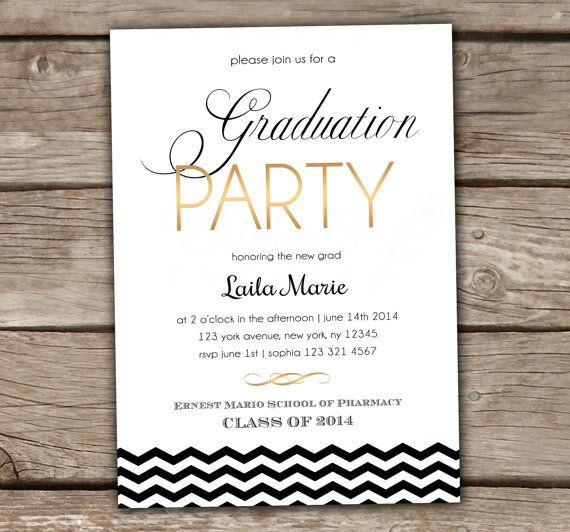 Graduation Party Invitations Ideas  25 best ideas about High school graduation invitations on