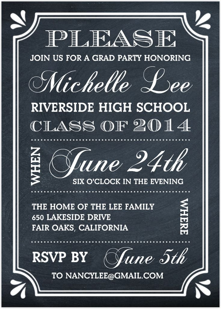 Graduation Party Invitations Ideas  25 best ideas about Graduation invitation wording on