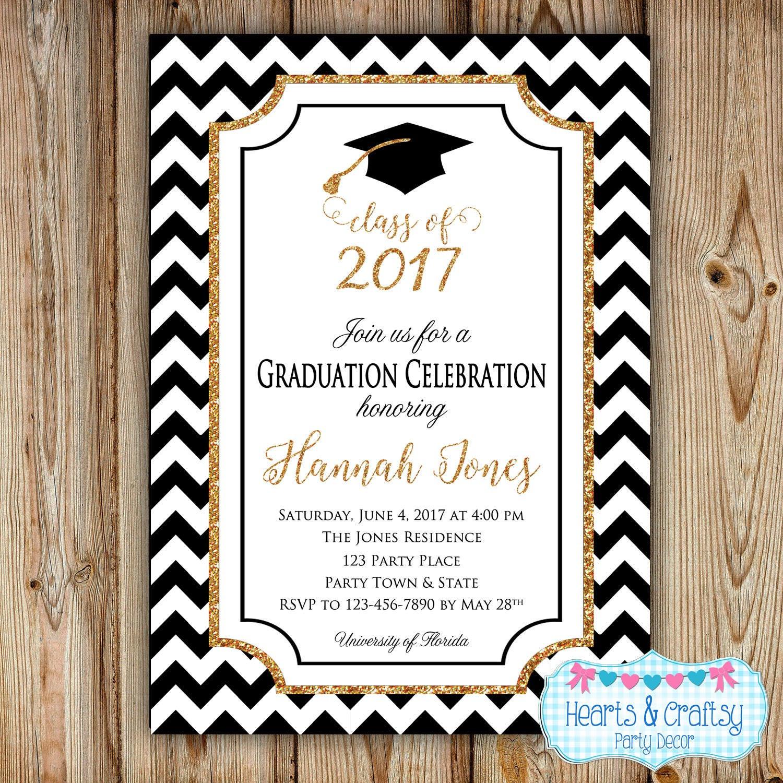 Graduation Party Invitations Ideas  Graduation Party Invitation College Graduation Invitation
