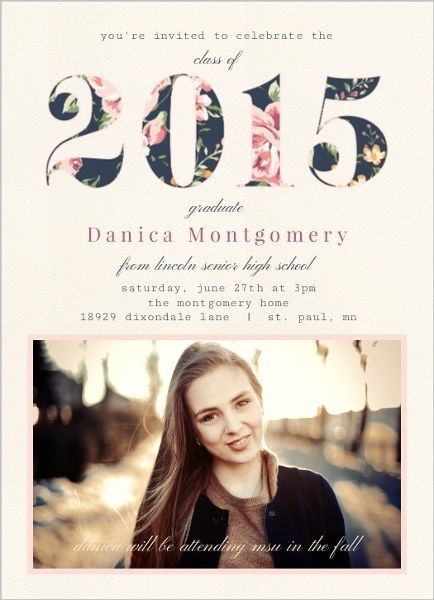 Graduation Party Invitations Ideas  Best 25 Graduation invitations ideas on Pinterest