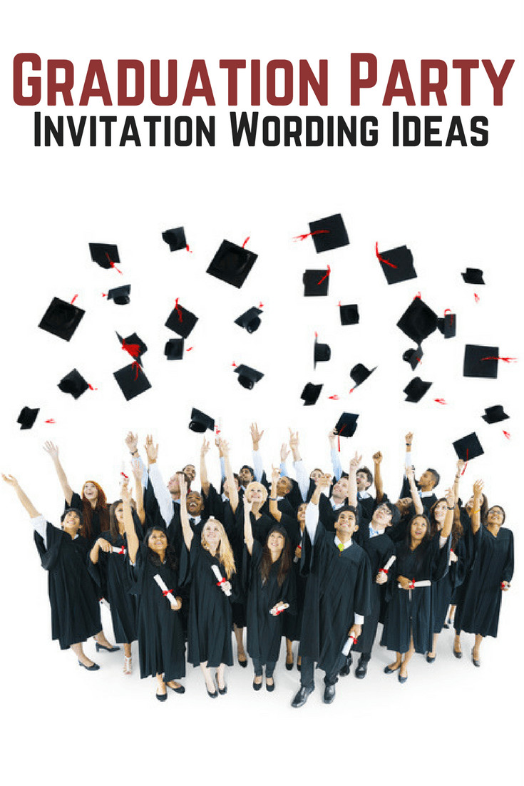 Graduation Party Invitations Ideas  Graduation Party Invitation Wording AllWording