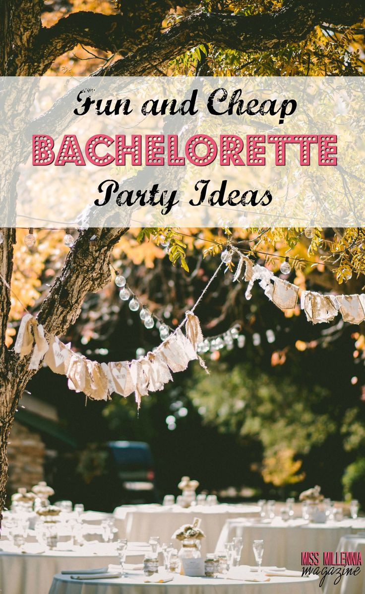 Great Bachelorette Party Ideas  Fun and Cheap Bachelorette Party Ideas