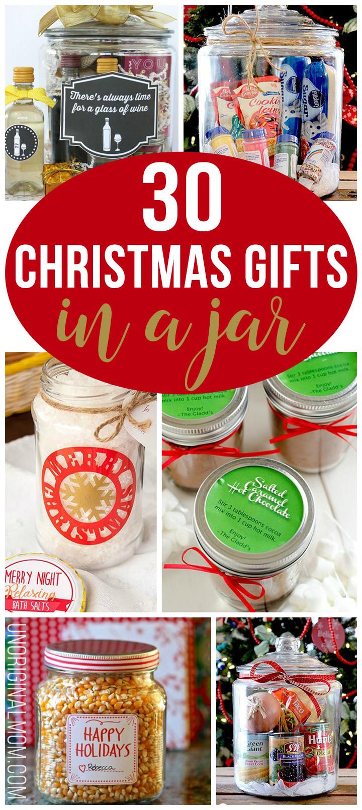 Great DIY Christmas Gifts  30 Christmas Gifts in a Jar unOriginal Mom
