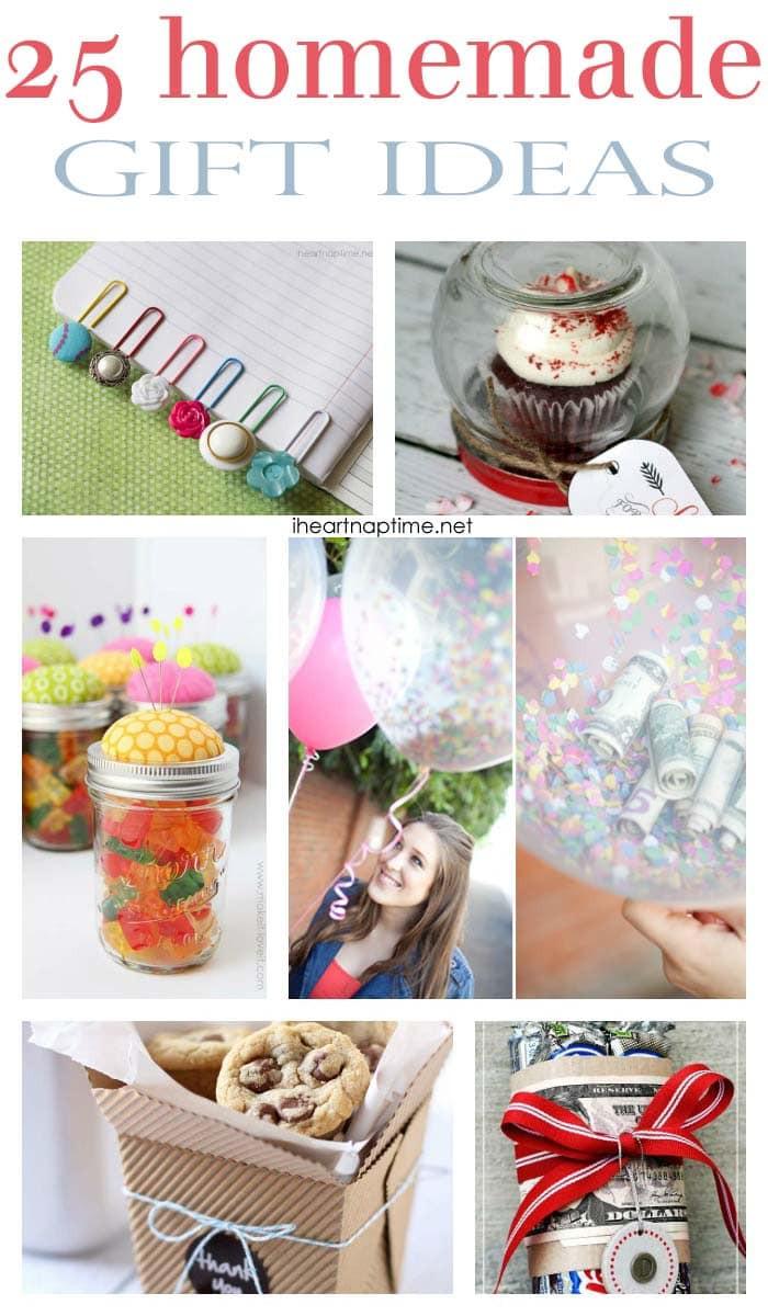 Great DIY Christmas Gifts  25 fabulous homemade ts I Heart Nap Time