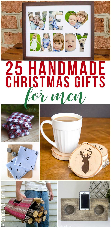Great DIY Christmas Gifts  25 Handmade Christmas Gifts for Men unOriginal Mom