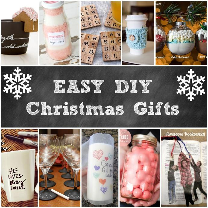Great DIY Christmas Gifts  Great Homemade Gifts For Christmas Inexpensive Ideas