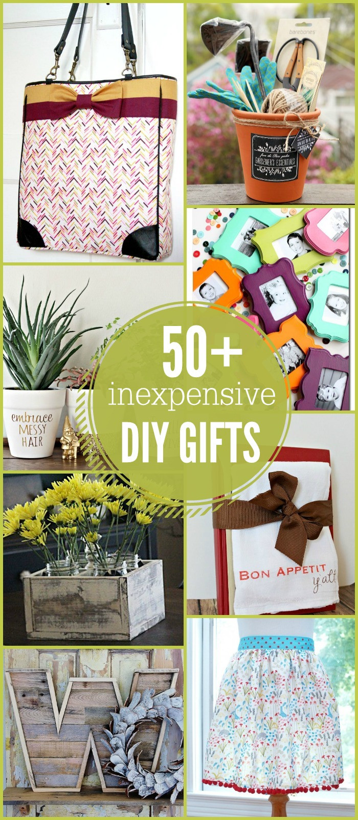 Great DIY Christmas Gifts  50 Inexpensive DIY Gift Ideas