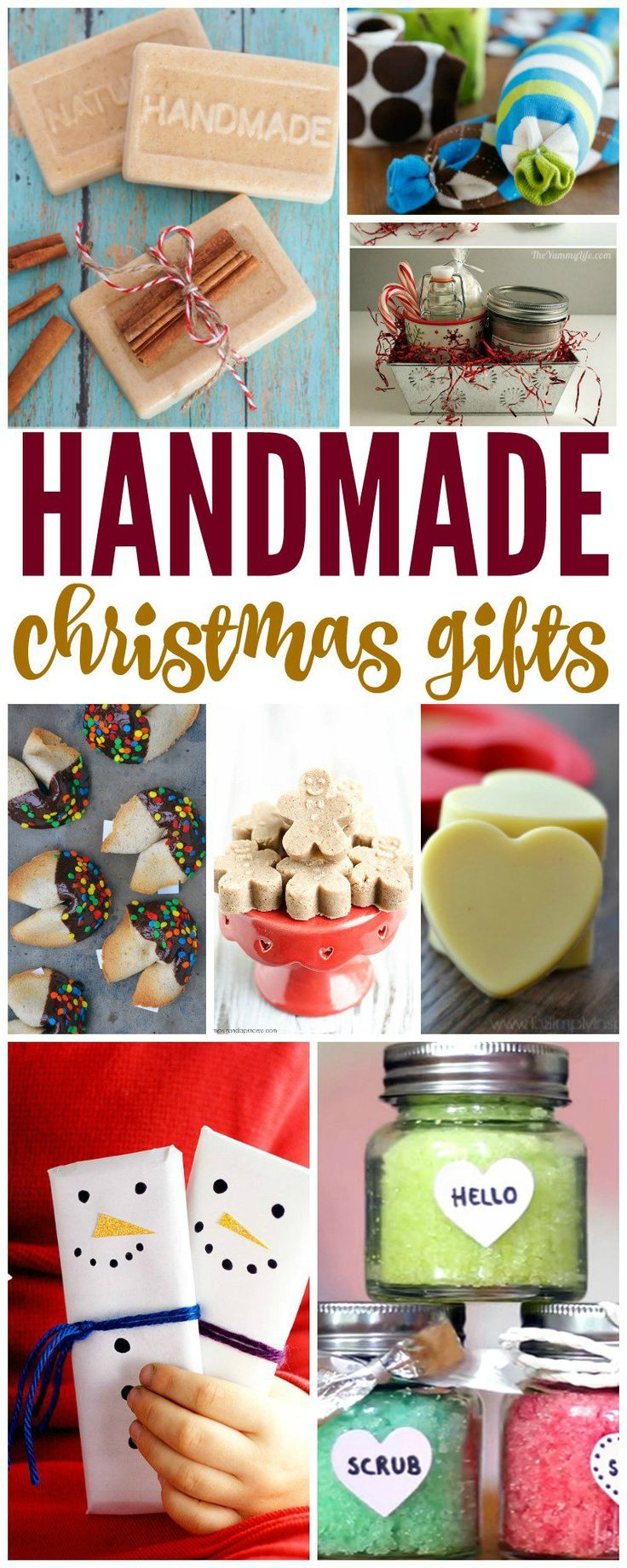 Great DIY Christmas Gifts  Homemade Christmas Gifts on a Bud Great ideas to share
