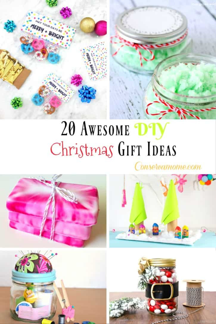 Great DIY Christmas Gifts  ConservaMom 20 Awesome DIY Christmas Gift Ideas