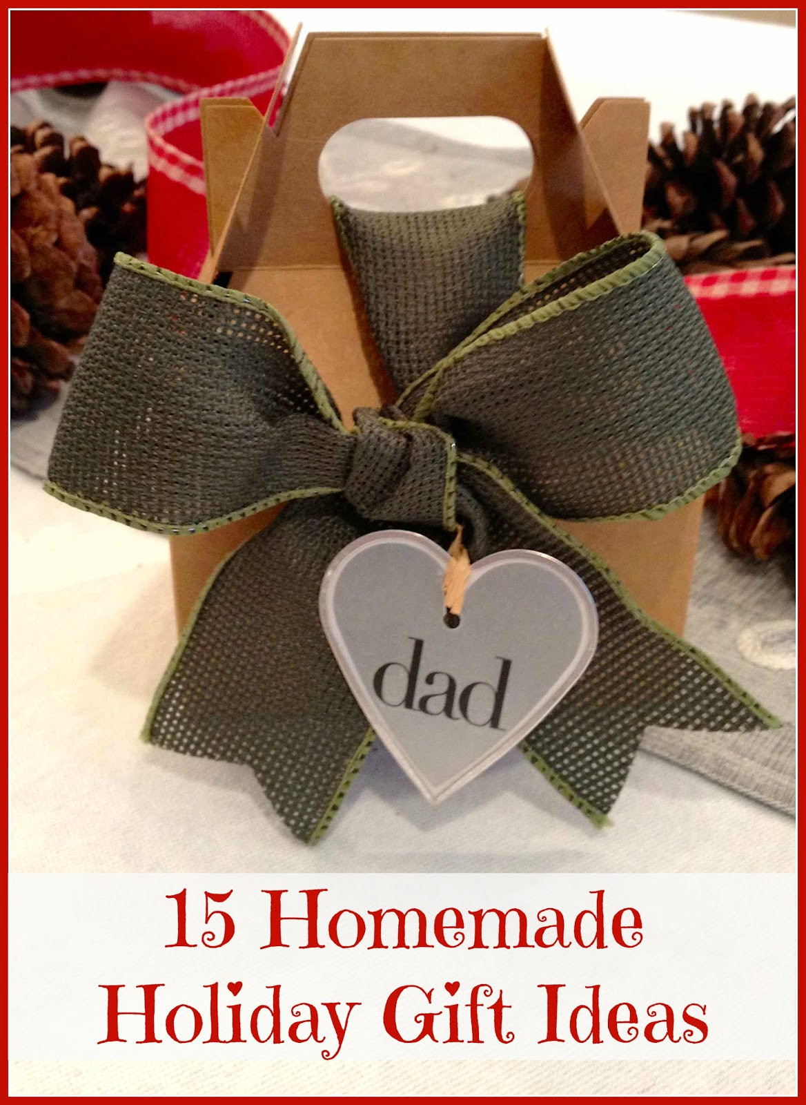 Great DIY Christmas Gifts  Homemade Christmas Gifts Ideas You ll Love