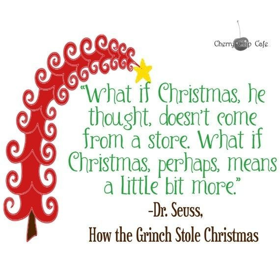 Grinch Christmas Quote  17 Best images about Putz Dr Seuss inspiration on