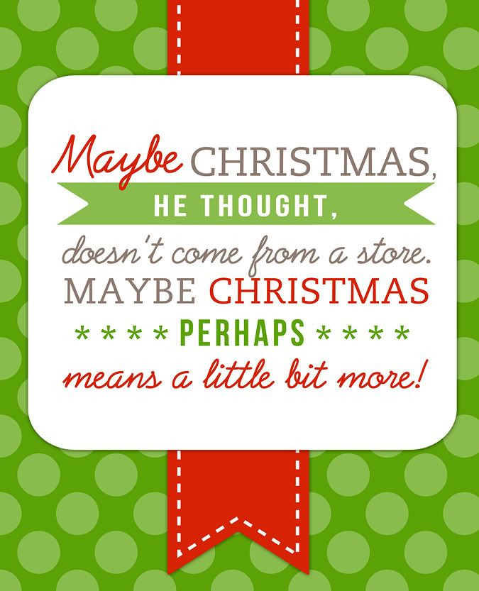 Grinch Christmas Quote  How the Grinch Stole Christmas Quotes QuotesGram