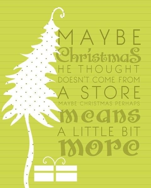 Grinch Christmas Quote  The Grinch Quote s and for