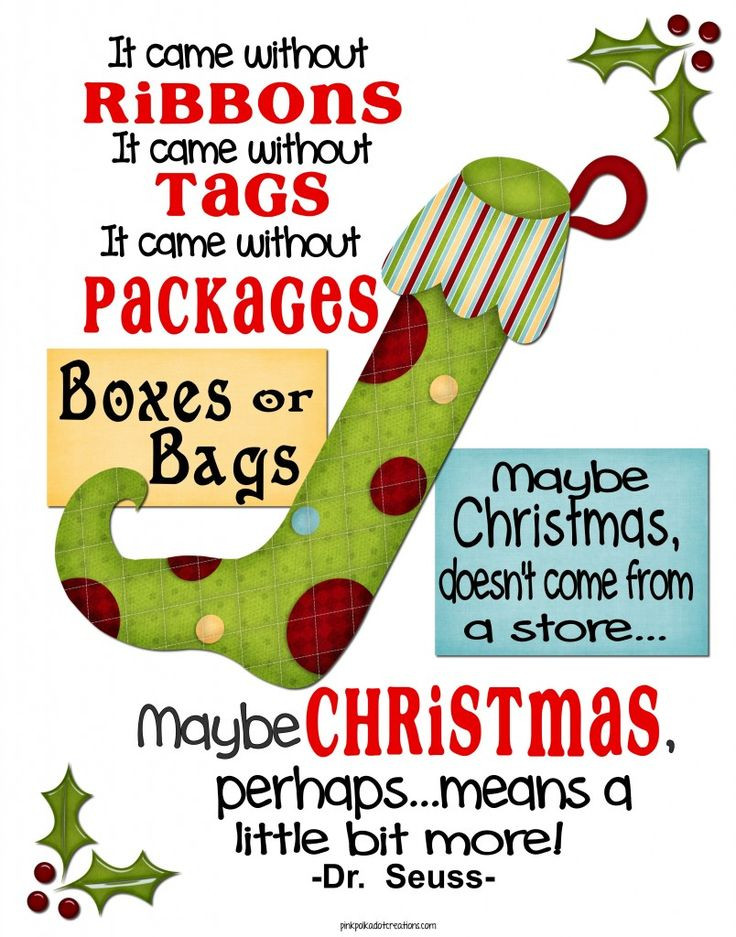 Grinch Christmas Quote  The Grinch Quotes Heart QuotesGram