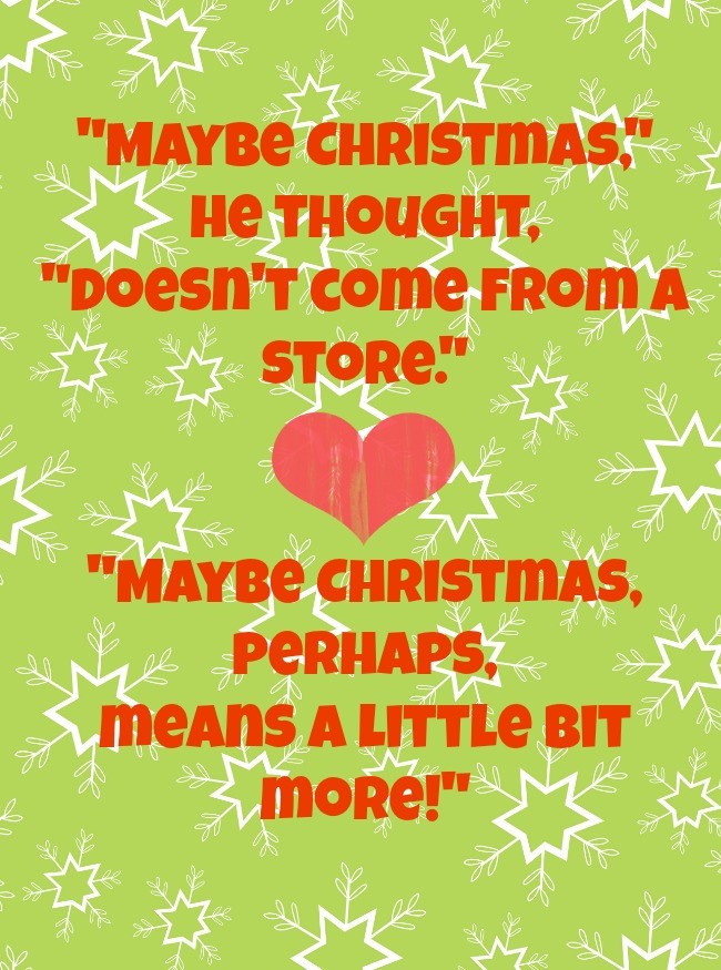 Grinch Christmas Quote  Quotes About The Grinch QuotesGram