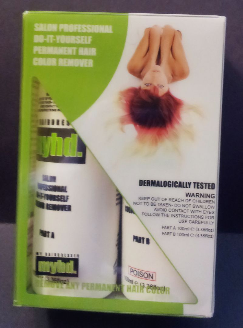 Hair Color Remover DIY  Beauty by Ashitude myhd Salon Professional DIY Permanent