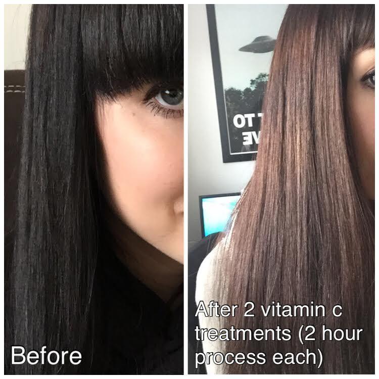 Hair Color Remover DIY  Vitamin C Hair Color Remover reviews photos filter