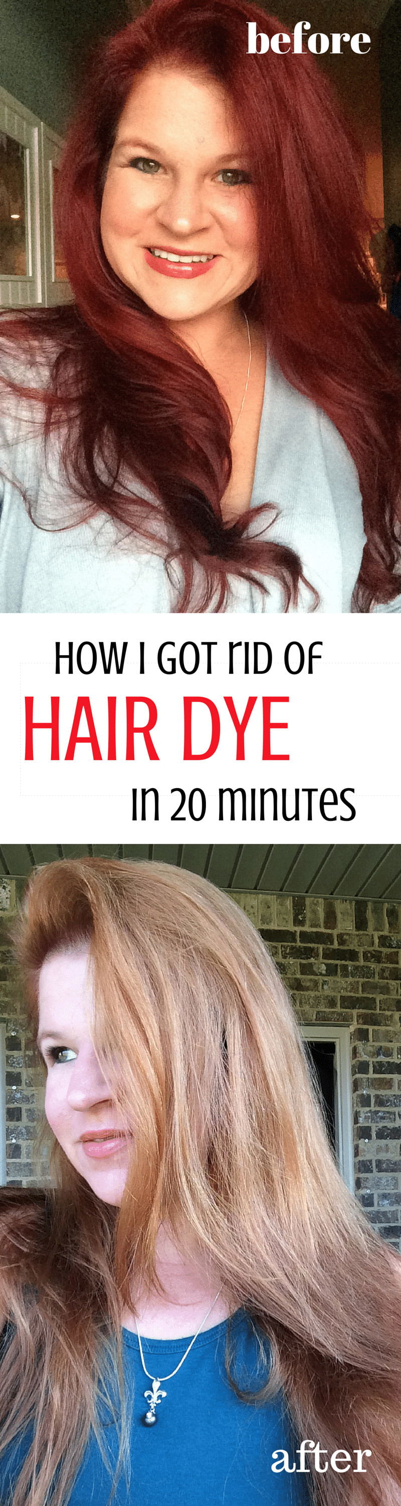 Hair Color Remover DIY  Does OOPS Hair Color Remover Work