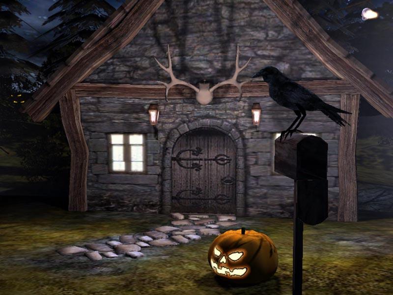 Halloween 3D Wallpaper  Halloween Screensaver Download 3D Spooky Halloween