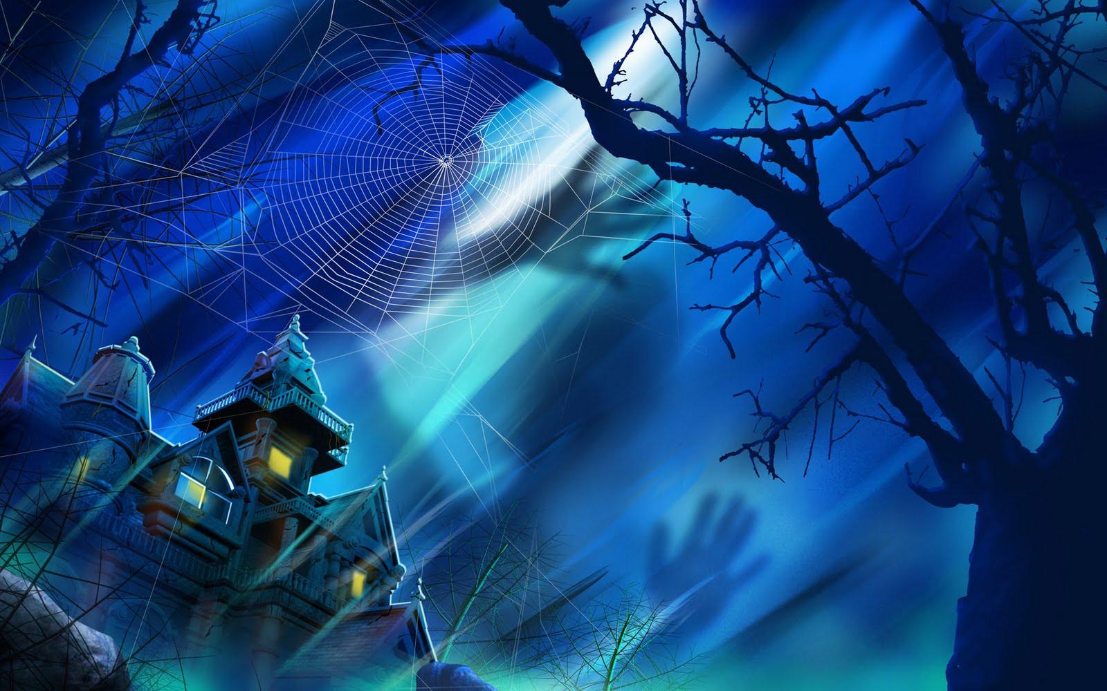 Halloween 3D Wallpaper  mashababko 3d Halloween Wallpaper