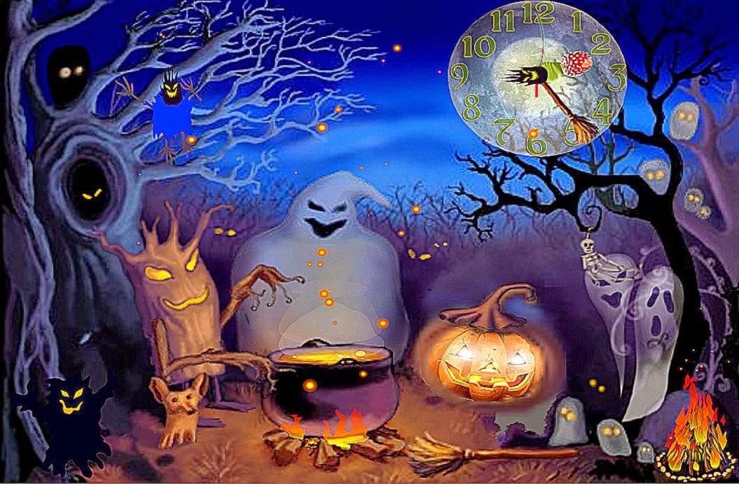Halloween 3D Wallpaper  3D Animated Wallpaper Halloween