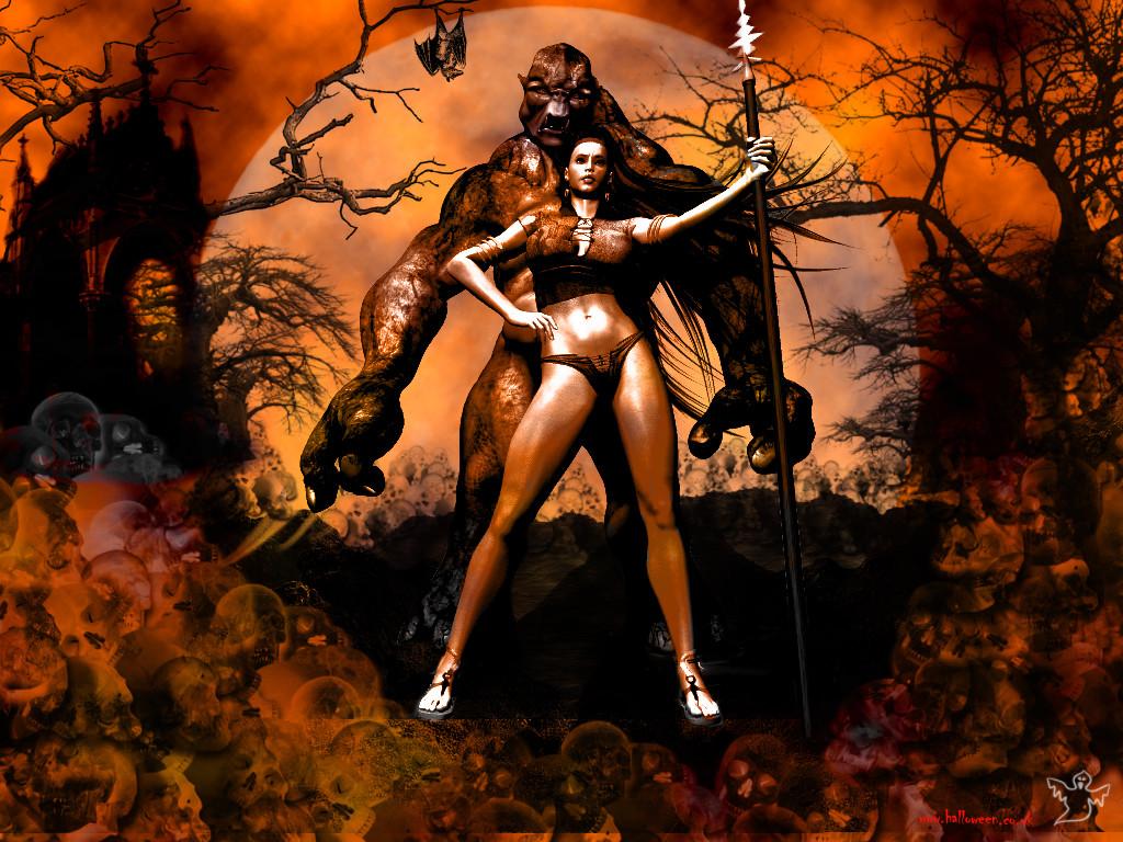 Halloween 3D Wallpaper  Desktop Nexus Wallpaper for Halloween WallpaperSafari