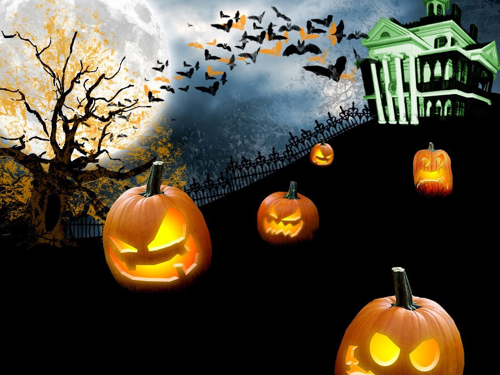 Halloween 3D Wallpaper  pic new posts 3d Animated Halloween Wallpaper