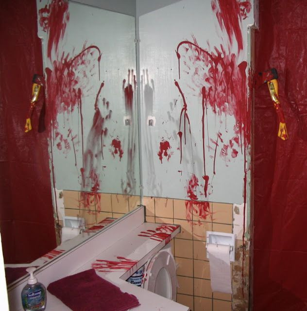 Halloween Bathroom Decor  17 Best ideas about Halloween Bathroom on Pinterest