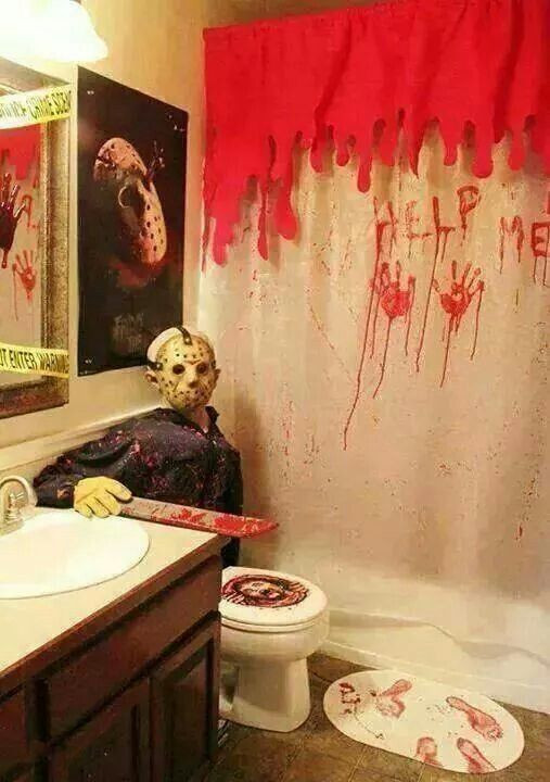 Halloween Bathroom Decor  Best 25 Monster house ideas on Pinterest