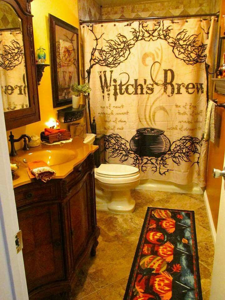 Halloween Bathroom Decor  plete List of Halloween Decorations Ideas In Your Home