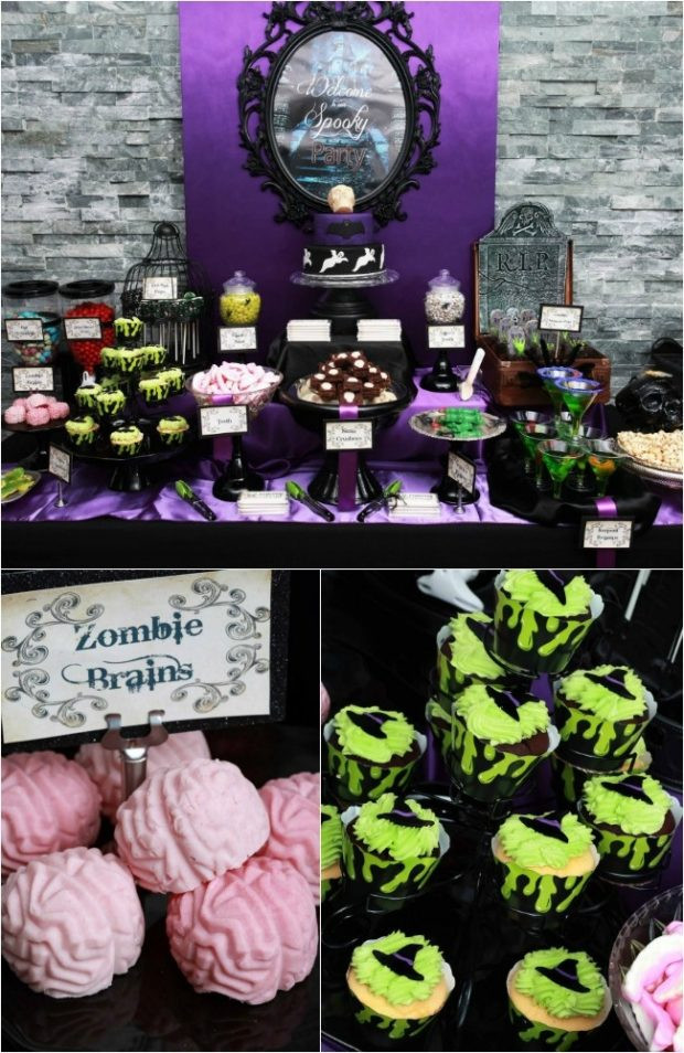 Halloween Bday Party Ideas  Boy s Halloween Birthday Party