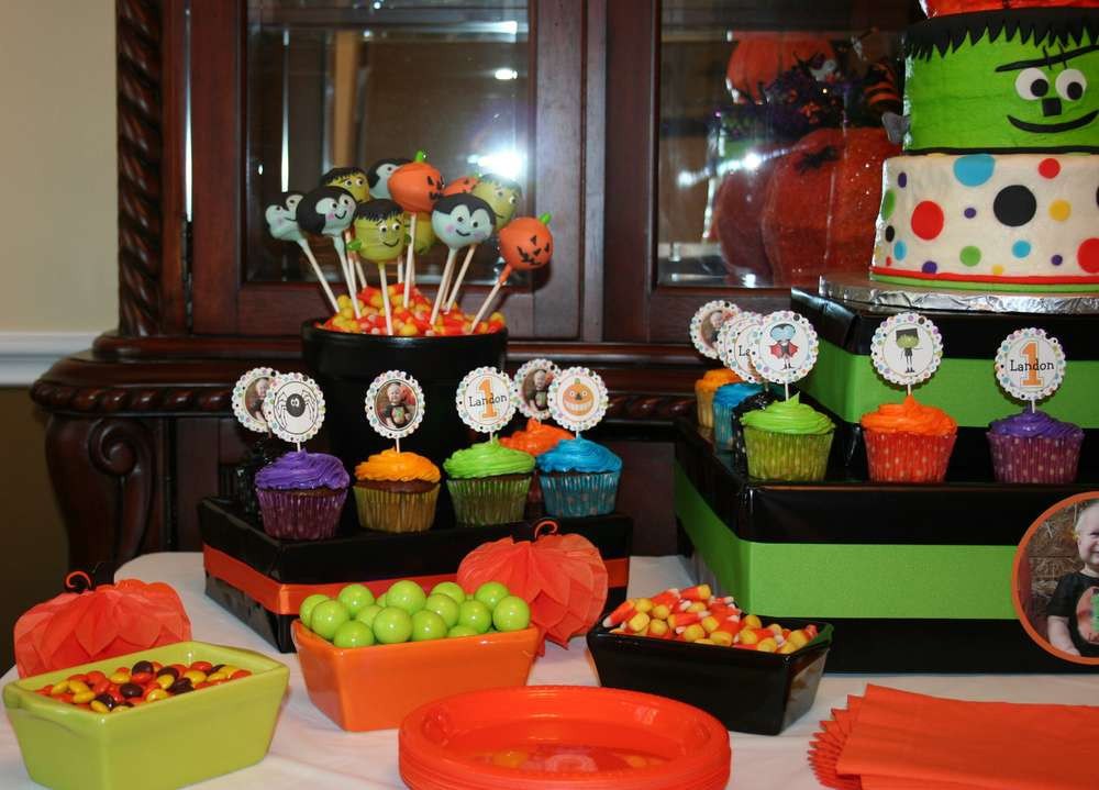Halloween Bday Party Ideas  Halloween First Birthday Halloween Party Ideas