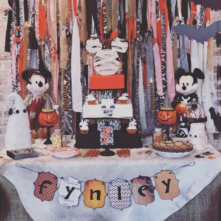 Halloween Bday Party Ideas  840 best Mickey Mouse Party Ideas images on Pinterest