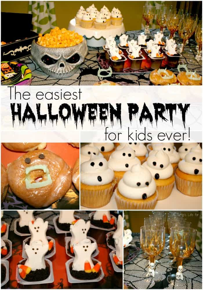 Halloween Bday Party Ideas  Easiest Kids Halloween Party Ever A Turtle s Life for Me