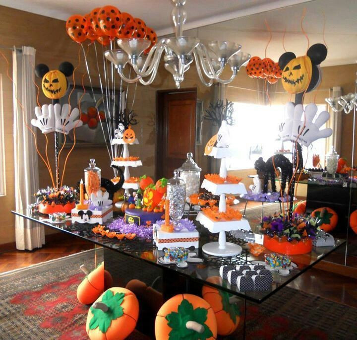 Halloween Bday Party Ideas  17 best Mickey Mouse Halloween images on Pinterest