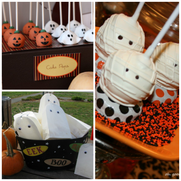 Halloween Bday Party Ideas  Pumpkin Party Decor