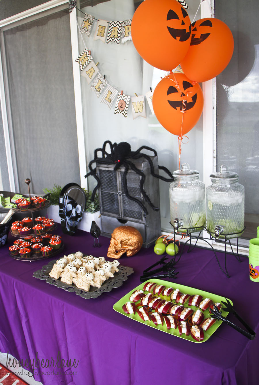 Halloween Bday Party Ideas  Kids Halloween Party Ideas Honeybear Lane