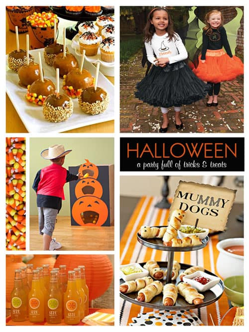 Halloween Children Party Ideas  The e with More Halloween Party Ideas Cupcake Diaries