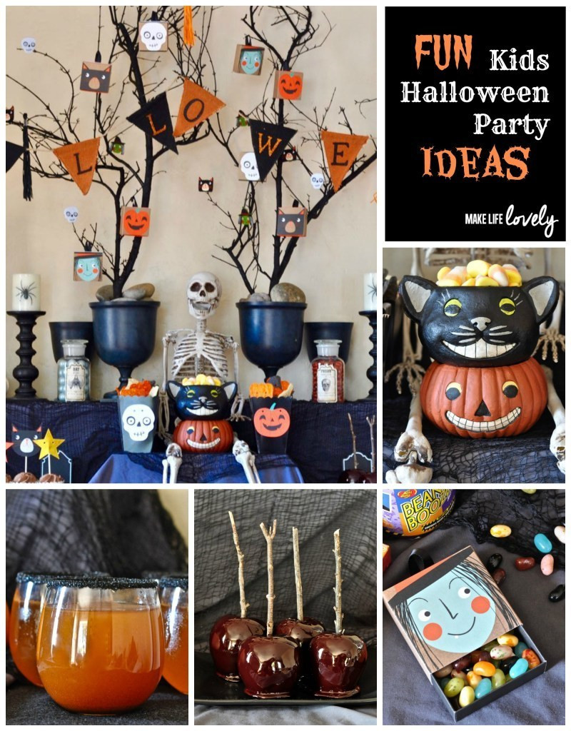 Halloween Children Party Ideas  Free Halloween Party Invitation Printables Make Life Lovely