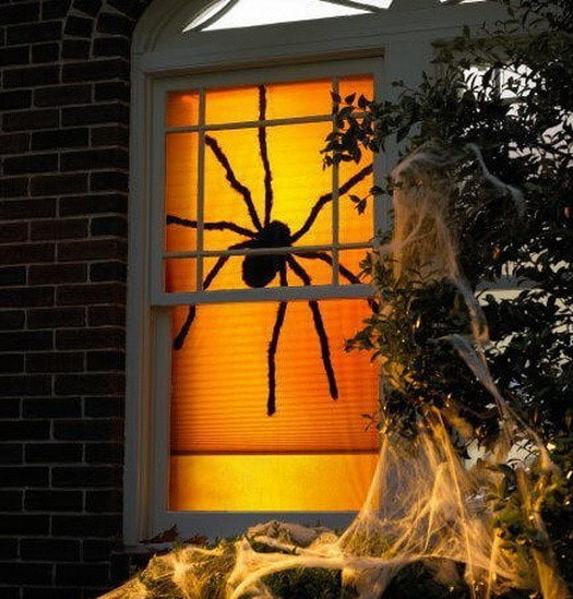 Halloween Decoration Outdoor  34 Scary Outdoor Halloween Decorations And Silhouette