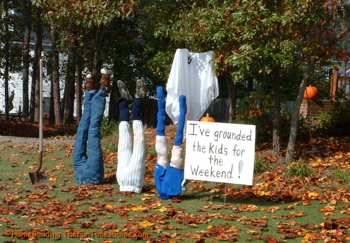 Halloween Decoration Outdoor  Awesome Ideas Creepy Cool Outdoor Halloween Decorations