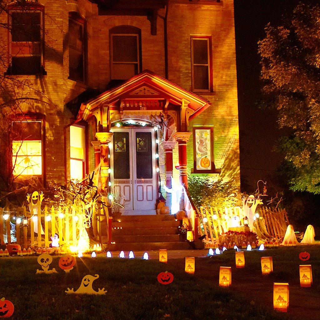 Halloween Decoration Outdoor  Creative Halloween Decorations Lights For Night