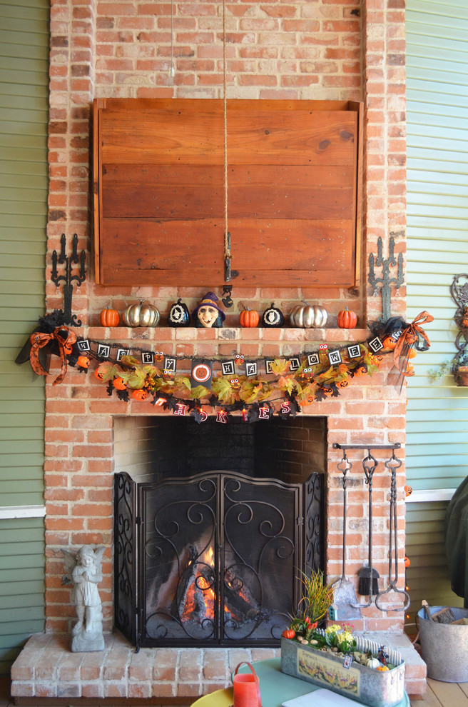 Halloween Fireplace Decorations  plete List of Halloween Decorations Ideas In Your Home